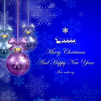 Ringtone: Merry Christmas and Happy New Year