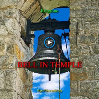 Ringtone: Bell in temple