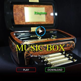 Ringtone: Happy birthday by music box