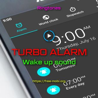 Ringtone: Turbo Alarm - FreeMobi