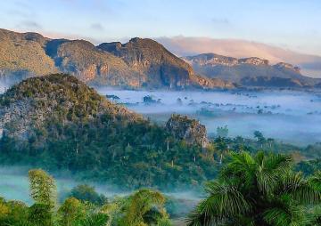 Beautiful Cuban landscape