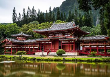 Byodo-In Temple, US